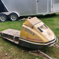 1972 skidoo tht 775 project