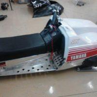 Yamaha gas tank lid that needs welding