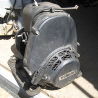 Suzuki single cyl motor