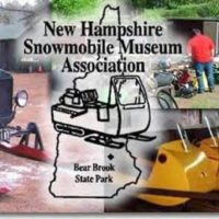 NH Snowmobile Museum Vintage Ride at Bear Notch State Park